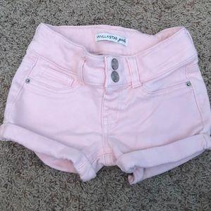 Worn Once Vanilla Star Soft  Lowrise Short Shorts